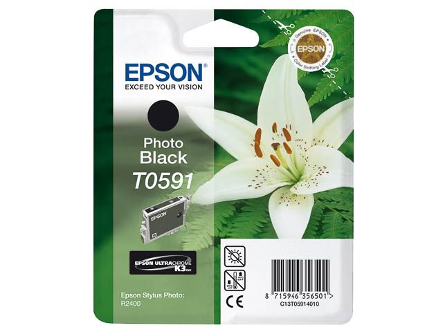 Inktcartridge Epson T059140 13 Ml Zwart