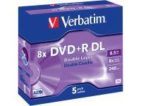 DVD+R 8.5GB 8x (5) JC