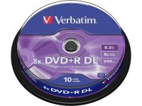 DVD+R 8.5GB 8x (10) SP