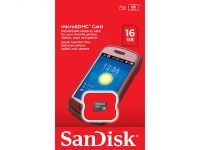 Sandisk Micro Sdhc Geheugenkaart 16gb