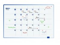 Accents Linear Maandplanner Cool 60x90 cm