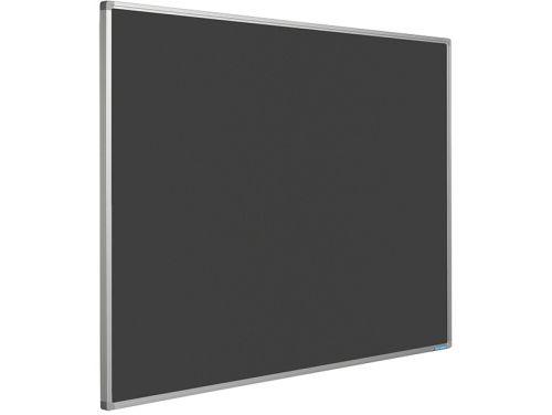e919fbdc4c8 Smit Visual Prikbord Bulletin Zwart 120x240 cm Softline Profiel ...