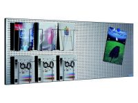 Perfo Wand-Display Plaat 96 x 46 cm
