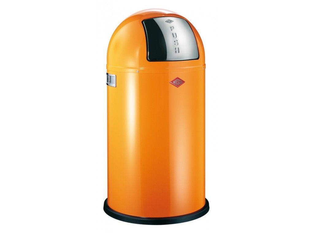 wesco pushboy 50 liter oranje. Black Bedroom Furniture Sets. Home Design Ideas