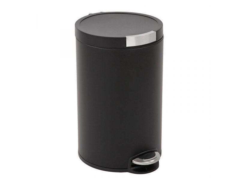 Eko Pedaalemmer 5 Liter.Vepa Bins Artistic Pedaalemmer 5 Liter Mat Zwart Eko