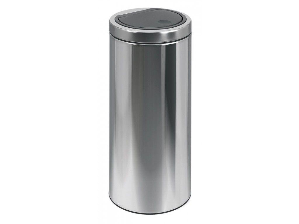 Brabantia Afvalbak 30 Liter.Brabantia Afvalbak 30 Liter Flattop Bin Rvs