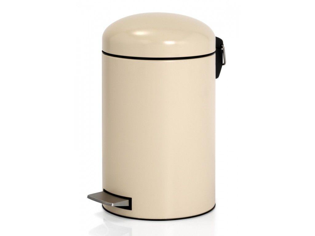 Pedaalemmer Brabantia 12 Liter.Brabantia Pedaalemmer Retro 12 Liter Almond