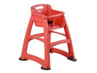 Sturdy Chair Kinderstoel Rubbermaid Rood