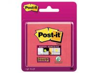 Post-it Super Sticky Zelfklevend Notitieblok, 76 x 76 mm, Roze
