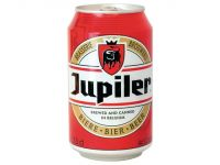 Jupiler Bier in blik