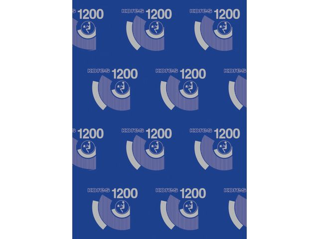 Carbonpapier kores a4 21x29 7cm 10 vel blauw for Carbon papier