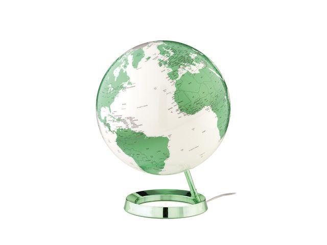 Atmosphere Globe Bright Hot Green Dia- Meter 30cm Kunststof Voet Met ...