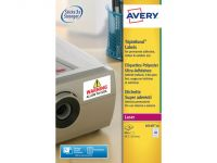 Laseretiket Avery 45.7x25.4mm Wit 20 Vel