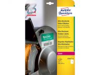 Ultra-heavy duty Avery etiket 210x297mm wit 10vel 1 et.per vel