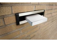 Postbox Raadhuis 210x150x27mm Wit