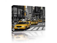 Canvas Taxi's in New York