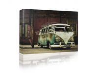 Canvas VW camper