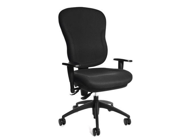 topstar outlet op op bureaustoelen wellpoint zwart met arm