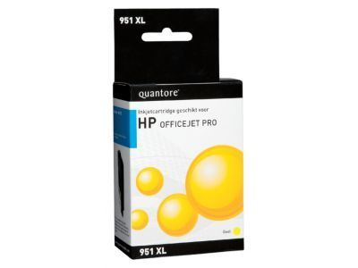 OUTLET OP=OP Inkcartridge Quantore HP CN048AE 951XL geel