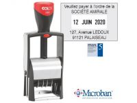OUTLET OP=OP Stempel Colop Classic 2360 45x30mm Franstalig