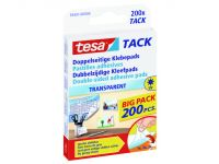 Outlet OP=OP Tesa Dubbelzijdige Kleefpad - Value Pack Transparant
