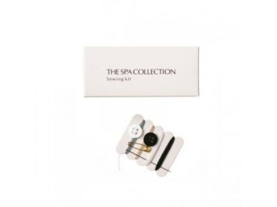 The Spa Collection Sewing kit in paper box