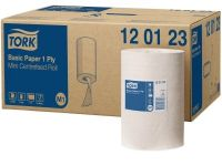 Tork Basic Wiper M1 310 Mini Centerfeed Rol 1-laags Wit 120 Meter