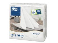 Tork 478711 Linstyle Dinner Servetten 1/4 Vouw Wit 1-Laags 39x39cm