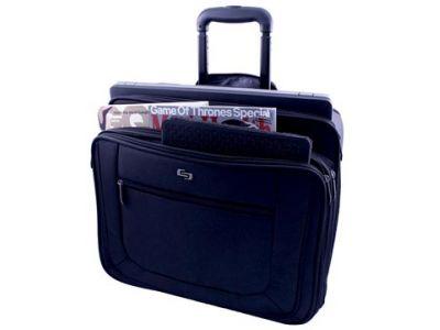 6d9cfab4c40 Solo Laptoptrolley Classic Voor 17.3 Inch Laptops Zwart ...