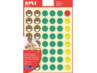 beloningsstickers Happy Smile, blister met 576 stickers