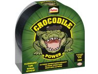 plakband Crocodile Power Tape lengte: 30 m, zwart