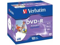 Dvd+R 4,7Gb 16X Jewel Case 10X