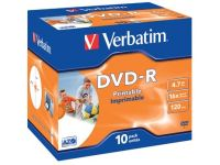 Dvd-R 4,7Gb 16X Jewel Case 10X