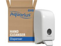 Kimberly-Clark Aquarius dispenser voor handdesinfectie, cassete, wit,