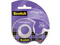Gift Wrap tape ft 19 mm x 15 m, op blister
