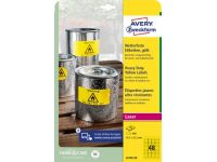 Avery Etiketten Heavy Duty 45.7x21.2mm, 960st Geel