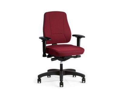 Bureau Stoel Rood.Prosedia Bureaustoel Younico Pro 2406 Bordeaux Rood Inclusief 4d