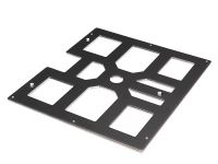 Bed Plate For 3d Printing (vertex Original K8400 240 X 215 X 4 Mm / 9,