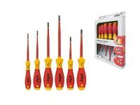Schroevendraaierset Softfinish Electric Slimfix Sleufkop, Phillips 6-D