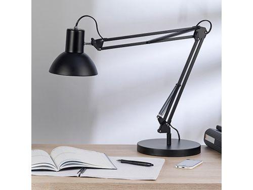 Unilux success 66 lamp met klem en voet zwart
