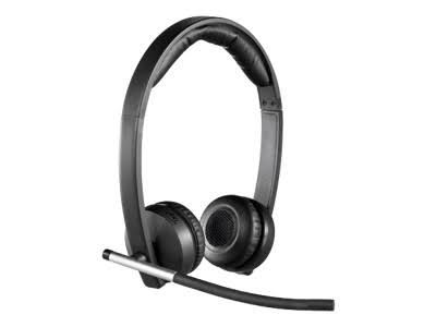 Logitech H 820 e Wireless Dect Stereo Headset
