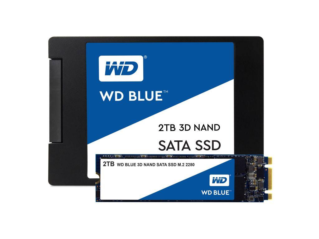 Western Digital Blue Interne Ssd 2Tb 2.5In 7Mm ...