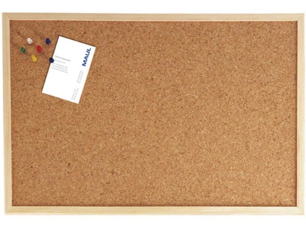 Maul Prikbord 30x40 Cm Kurk Houten Frame