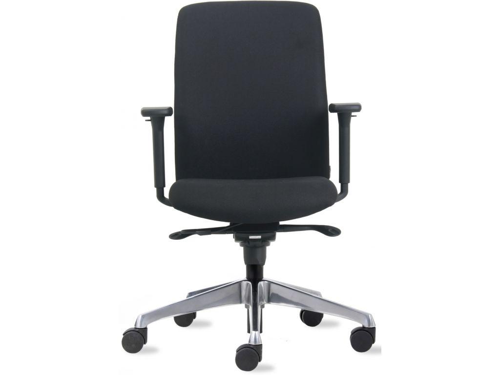 Bureaustoel Zwart Design.Bureaustoel Design Nen En 1335 Zwart Discountoffice Nl