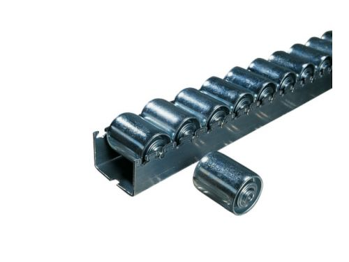 Rollenrails Cilindrische Rollen V.staal Afstand 48Mm L 3600Mm
