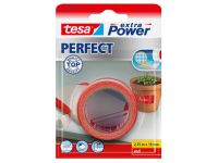 Tesa Extra Power Perfect textieltape rood 2,75 m x 19 mm