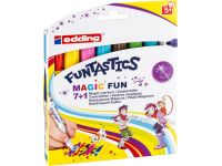 Edding e-13 FUNTASTICS MAGIC FUN kinderkleurstift set van 8 assorti