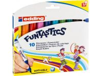 Edding e-14 FUNTASTICS kinderviltstift set van 10 assorti