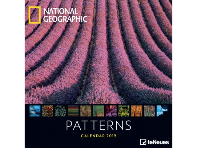 Kalender 2019 teNeues patterns