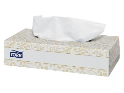 Tissue Tork Doos 2-laags Facial Wit
